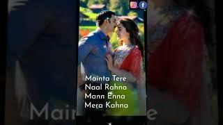 Tere bin nhi lagta dil mera|full screen whatsapp status|simmba|aarvi creation