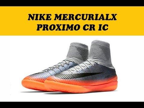 9121be113f0c ОБЗОР ФУТЗАЛКОК NIKE MERCURIALX PROXIMO II CR7 IC 852538-001 МЕРКУРИАЛ