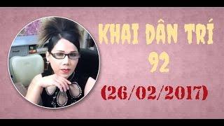Lisa Pham -  Khai Dân Trí 92 (Chủ Nhật 26/02/2017)