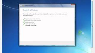Instalação Windows 7 Ultimate - Super Lite