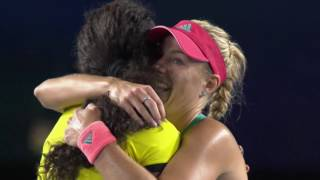 The Top Eight Tennis Celebrations of 2016