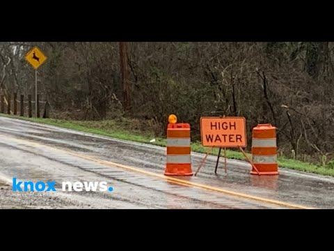 Widespread Flooding In Farragut, Tenn.