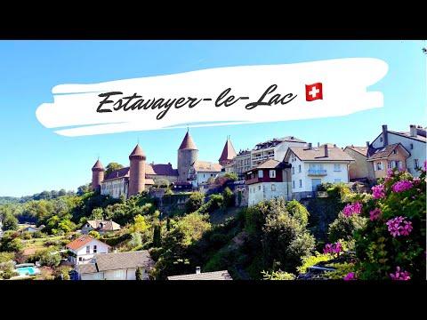 Estavayer-le-Lac    the historic medieval town - Switzerland🇨🇭 Swiss Village
