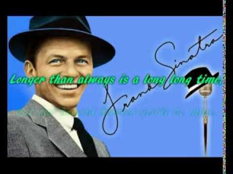 More - Frank Sinatra - with lyrics