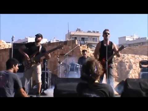 1000Dead - Dignity... A Dying Word (Live @ Chania Rock Festival 2015)