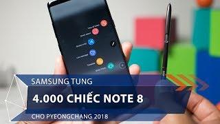 Samsung tung 4.000 chiếc Note 8 cho Pyeongchang 2018   VTC1