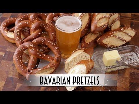 Bavarian Pretzels | Laugenbrezel & Laugenstangen