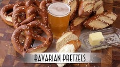 Bavarian Pretzels   Laugenbrezel & Laugenstangen