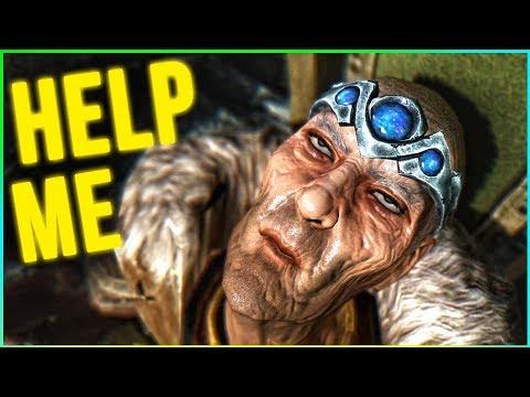 Skyrim The Jarl NEEDS ME!  - (Bilegulch Mine Walkthrough)