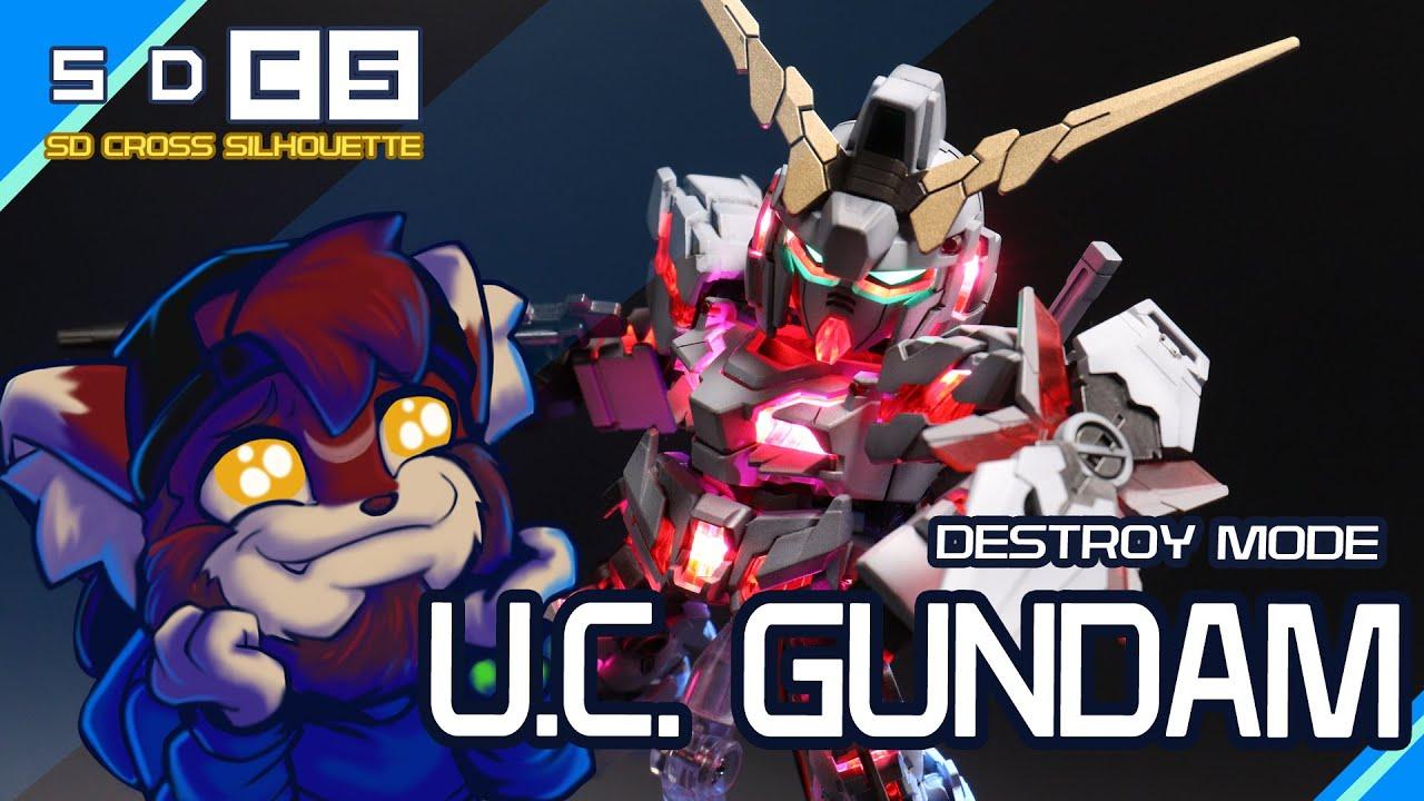 #Gunpla #newtype SDCS Unicorn GUNDAM (DESTROY MODE)
