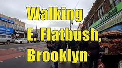 ⁴ᴷ⁶⁰ Walking East Flatbush, Brooklyn, NYC : Church Avenue, New York Avenue, & Utica Avenue