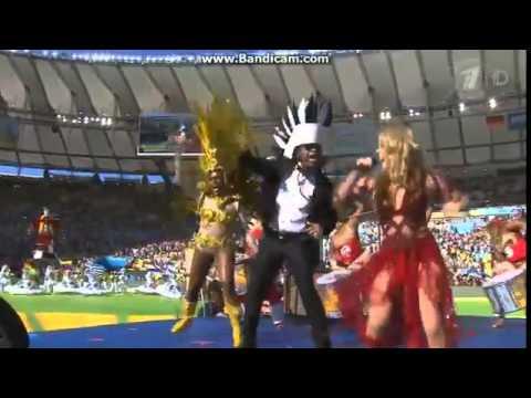 Выступление Шакиры на закрытии ЧМ по футболу 2014