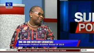 I'm In Politics To Rescue Nigeria - Oby Ezekwesili Pt.2 | Sunday Politics |