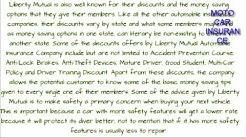 Liberty Mutual Auto Insurance Company Review