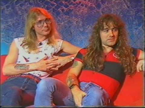 Iron Maiden 1985 Interview (26 of 100+ Interview Series)