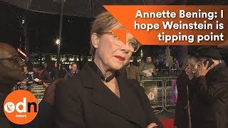 Annette Bening: I hope Weinstein scandal is tipping point