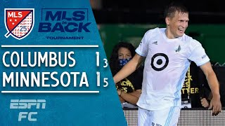 Minnesota United beat Columbus Crew on penalties to reach quarterfinals | MLS Highlights