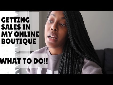 Boutique Owner Life: HAVING A HARD TIME MAKING SALES, SALES GOALS, Shopify + MORE! thumbnail