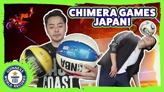 Record Breaking at Chimera Games - Meet The Record Breakers Japan