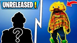 *ALL* Fortnite Unreleased SKINS! | Leaked Taco Mascot, Durr Burger 2, Purple Dino!