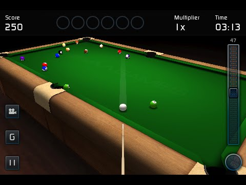 3D Pool Game for iPhone / iPod & Android
