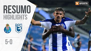 Highlights | Resumo: Fc Porto 5-0 Belenenses  Liga 19/20 #30