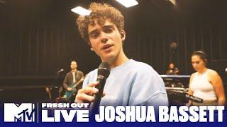 "Joshua Bassett Performs ""Telling Myself""   #MTVFreshOut"