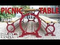 Steel Picnic Table - PART 1 NOT so DIY patio garden table