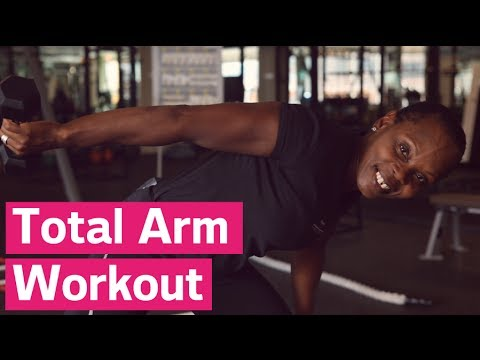 Tone Your Arms With One Exercise