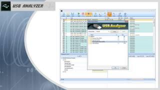USB Analyzer: sniff USB traffic