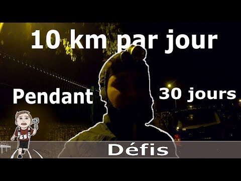 [Défis] Courir Tout Les Jours 10km Pendant 30 Jours !!