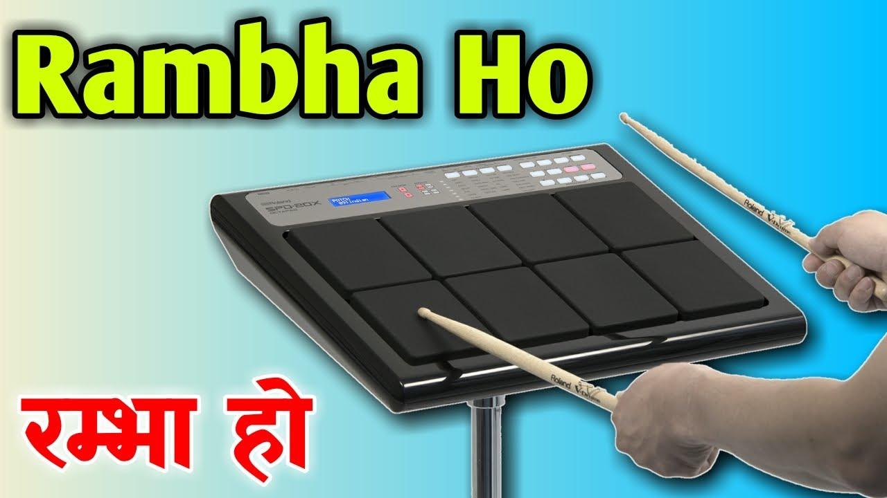 Rambha Ho | Octapad Playing | Sangeet Yog