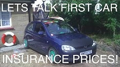 Lets Talk First Car Insurance Prices | Vlog#10