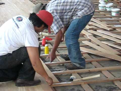 Sistema de instalaci n machihembrado tradicional encola - Machimbrado leroy merlin ...