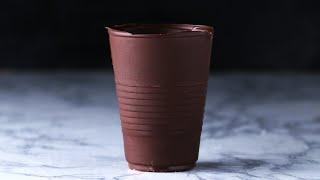 ぜひ作ってみてくださいね! チョコ製グラス 1人分 材料: ダークチョコ...