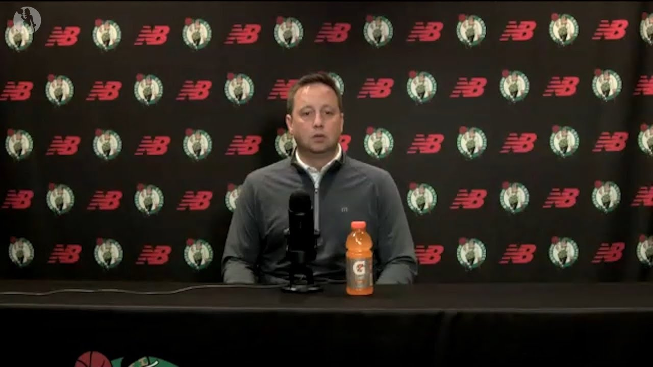 Austin Ainge Discusses The Celtics' Approach to the 2021 NBA Draft