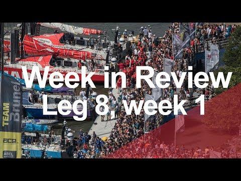 Week in Review - Leg 8, week 1 | Volvo Ocean Race