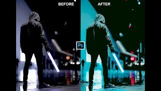 FIX YOUR NIGHT IMAGE AND POP UP WITH PHOTOSHOP EASY AND SIMPLE