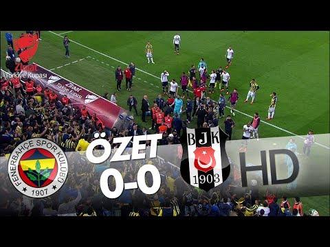 Fenerbahçe - Beşiktaş Maç Özeti