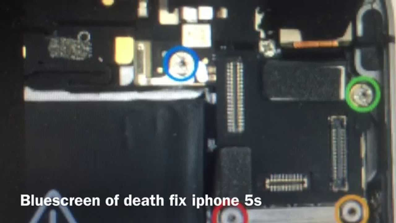 iPhone 7/SE/6s/6s Plus/6 Plus/6/5S/5C/5/4S/4 Blue Screen of Death ...