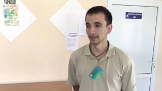 В Дружковке инвалиды активно занимаются на тренажёрах