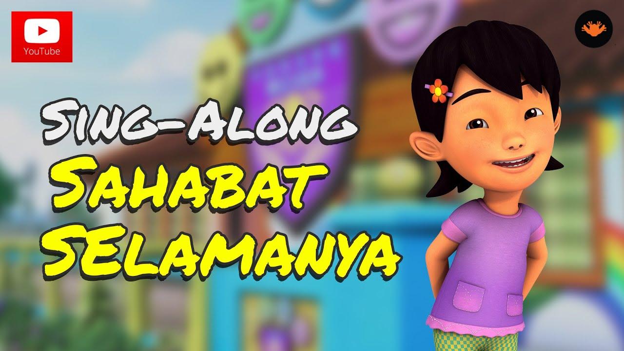 Upin Ipin Sahabat Selamanya Sing AlongHD YouTube