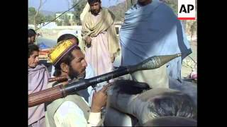 Mujahedeen faction in control of Torkham border crssoing.