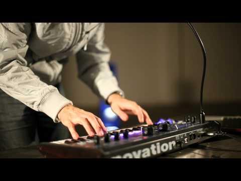 Novation // MiniNova synthesizer performance