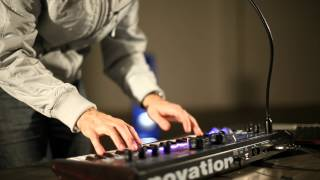 Novation // MiniNova synthesizer performance