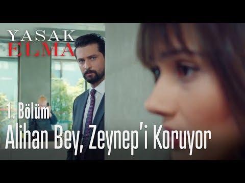 Alihan Bey, Zeynep'i korumaya başladı bile