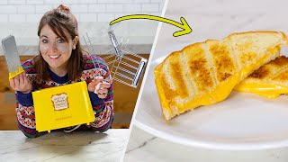 I Tested The Grilled Cheese Sandwich Toaster • Tasty