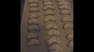 Rezept Nusskipferl - Weihnachtskekse - Vanillekipferl - Weihnachtsgebäck