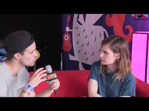 Christine and The Queens - Interview ( Vieilles Charrues 2014 )