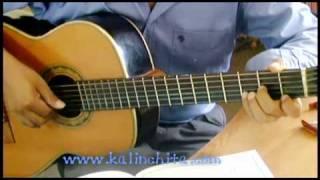 Toda una vida - Oswaldo Farres - Bolero - Como tocar en guitarra acordes